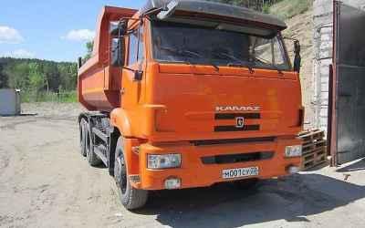АРЕНДА КАМАЗ-65115-самосвал. Грузоподъемность 15 т - Барнаул
