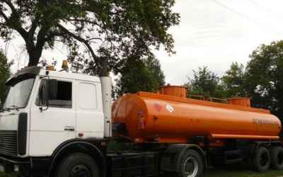 Доставка топлива цистерной бензовозом, перевозка гсм, аренда бензовоза - Барнаул