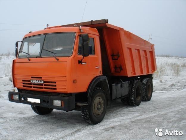 Услуги самосвалов Камаз 15тонн - Барнаул