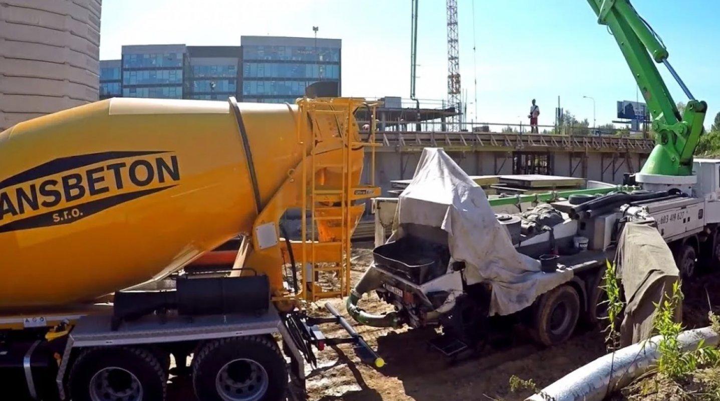 Механизированная подача бетона керамзитобетон для стяжки калькулятор онлайн