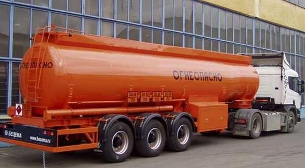 Доставка топлива цистерной бензовозом - топливозаправщика - Барнаул
